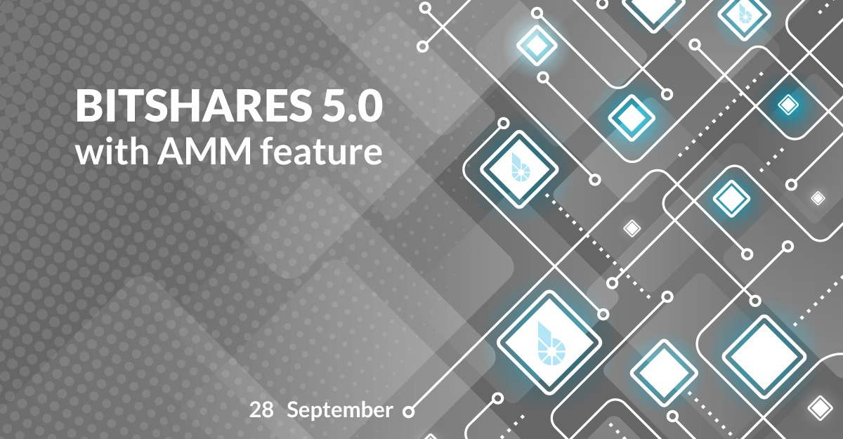 BitShares Core 5.0 to be released with AMM feature