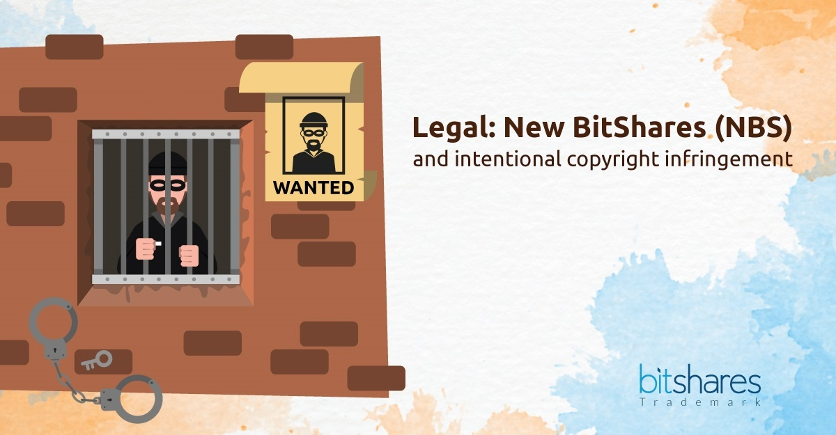 [Legal Notice] BitShares Copyright infringement claim vs. 'New BitShares'