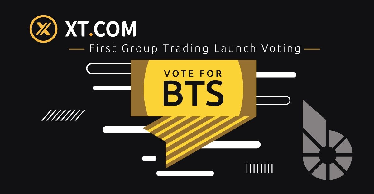 Vote for BTS Group Trading on XT.com (with airdrop)
