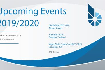 BitShares Events in 2019/2020