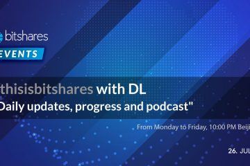 #ThisIsBitShares With DL – Daily Updates, Progress, Podcast