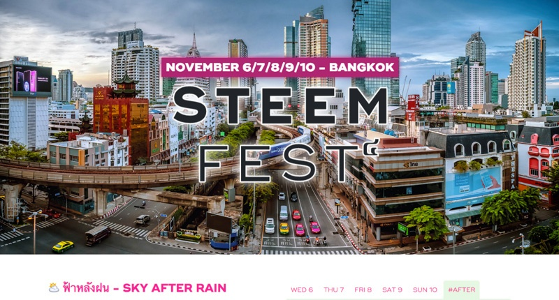 steemfest website